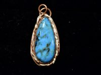 turquoise pend