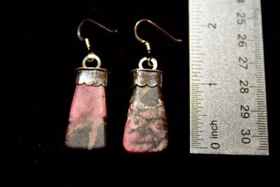rho earrings size