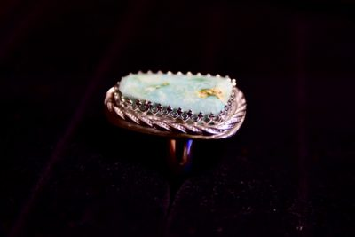 turquoise ring side