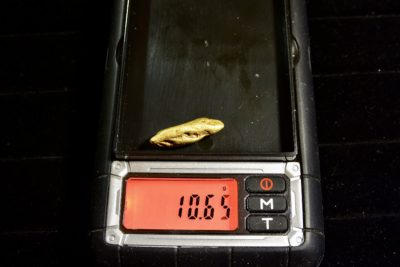 gold Nugget weight
