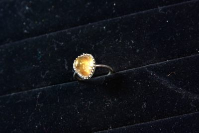 Fire Agate ring