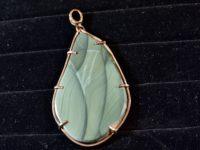 Blue Mountain Jasper pendant
