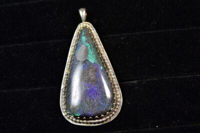 Andamooka Opal pendant