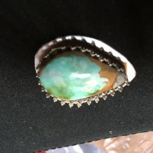 Fitting cabochon to setting
